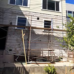 Before: Prep work for back deck in Miraloma: image 2 0f 7 thumb