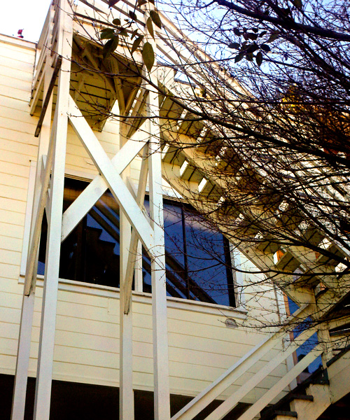 Potrero Hill Spiral Staircase And 3 Story Deck. Exterior Staircase: Image 1  0f 4 Thumb ...